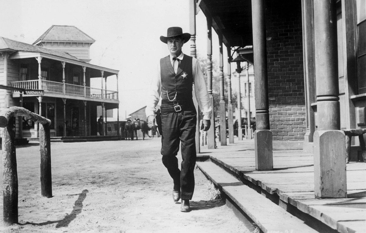 Gary Cooper in 'High Noon.""