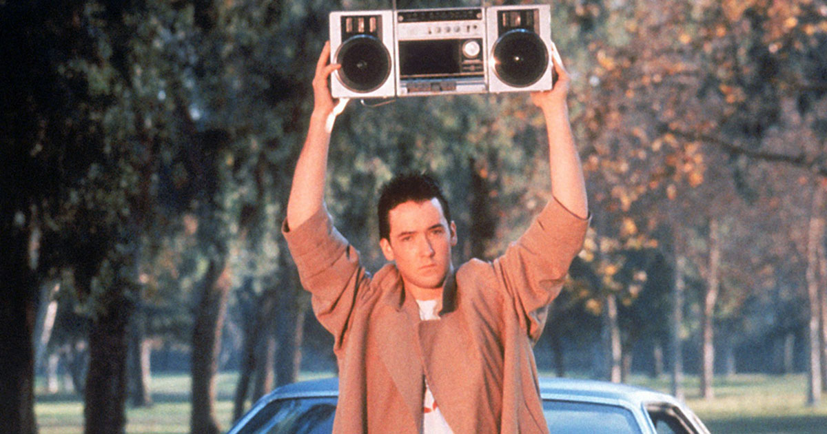 John Cusack in 'Say Anything.'
