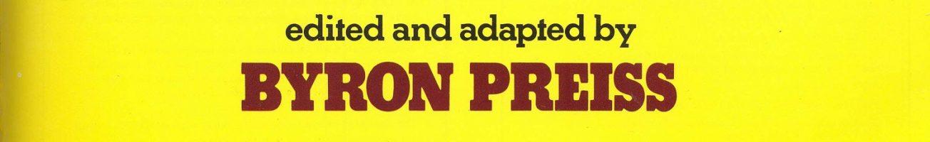 Byron Preiss: An Appreciation
