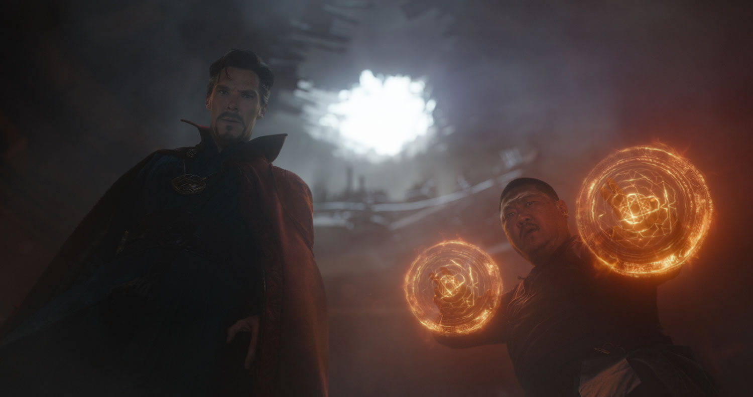 Dr. Strange and Wong.