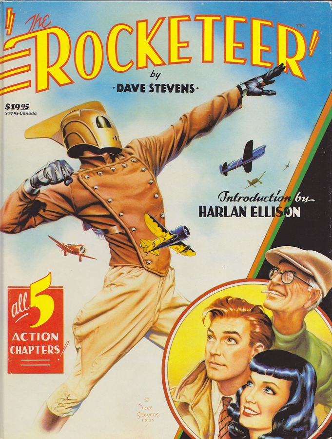 Rocketeer Dave Stevens Atomic Junk Shop