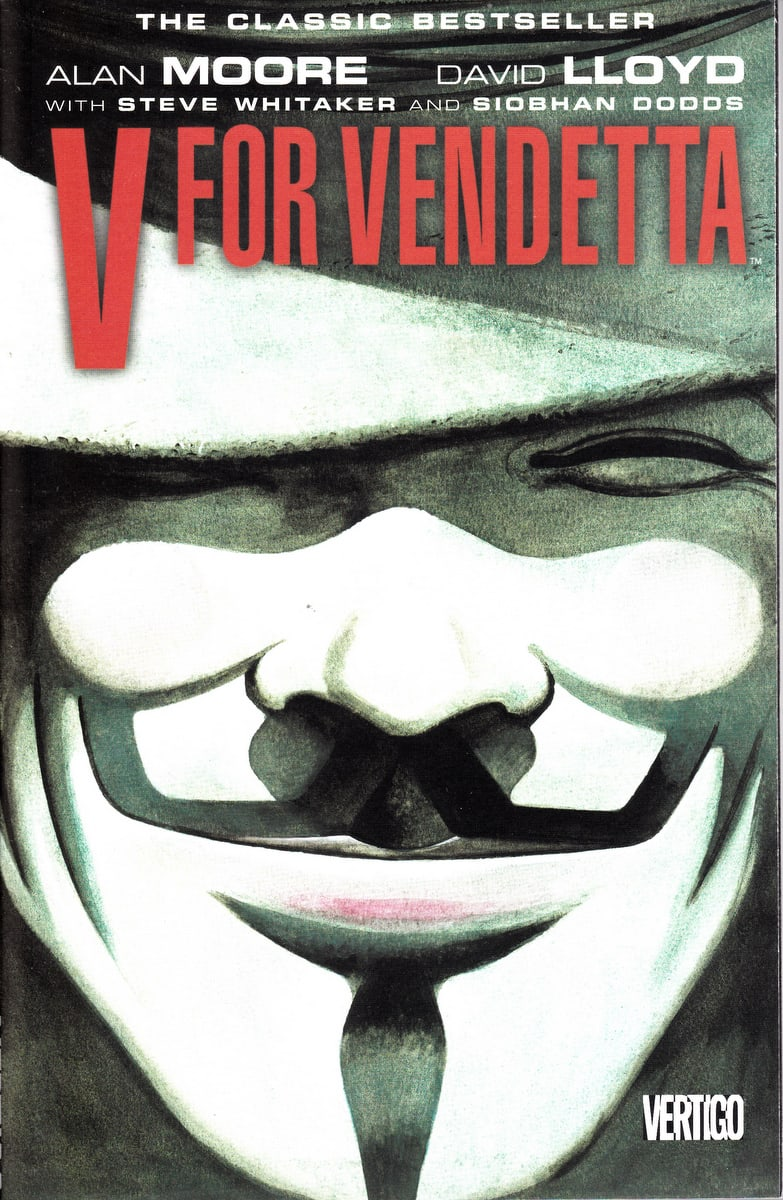 Image result for v for vendetta cover comic