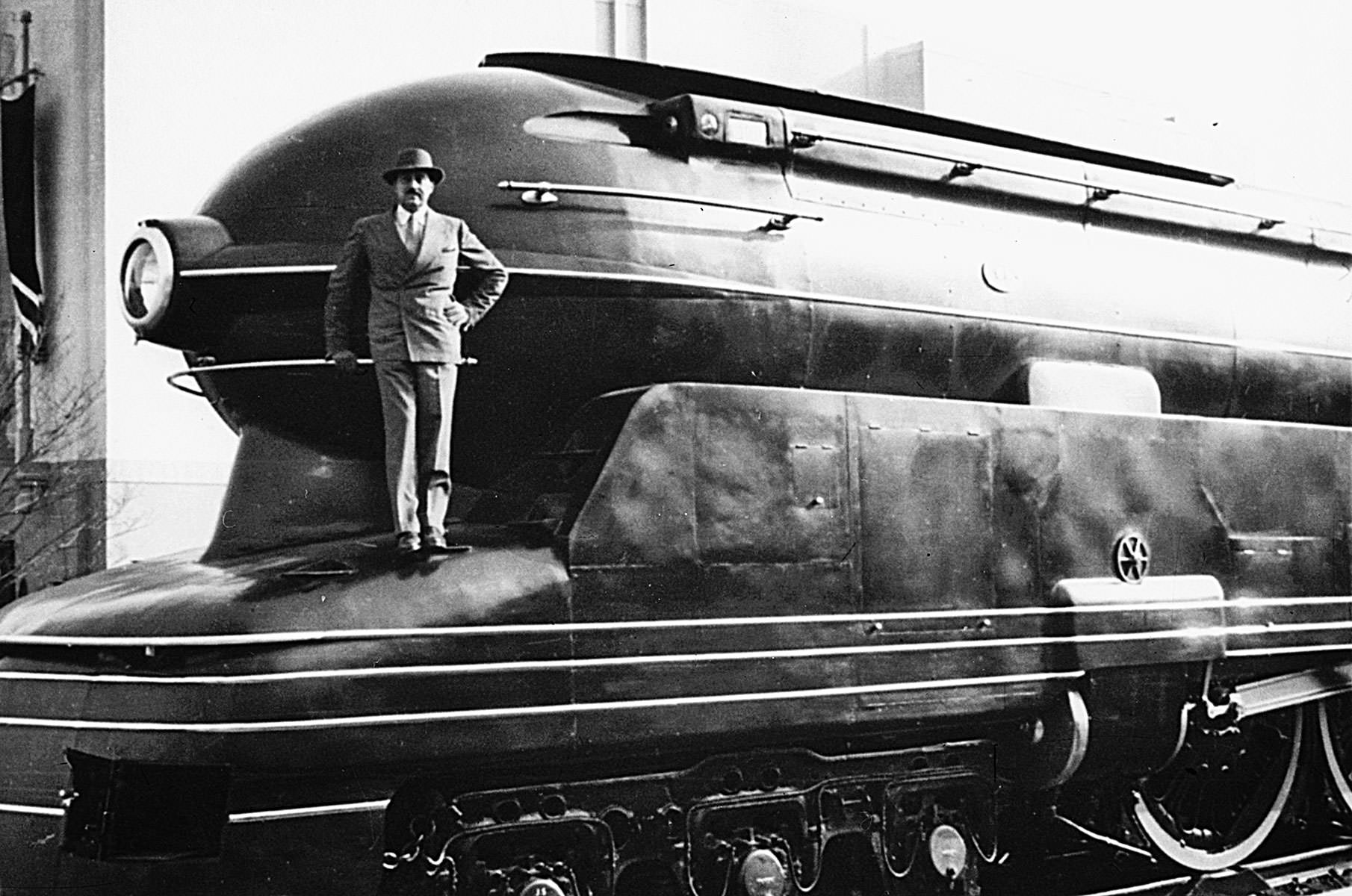 Raymond Loewy, the man who designed the future.