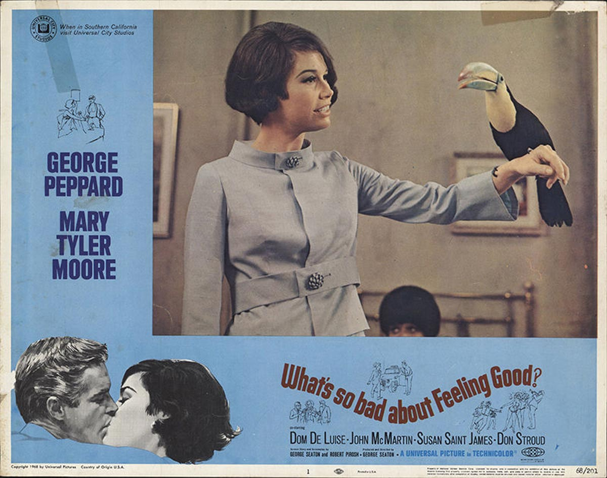 What's So Bad About Feeling Good? lobby card