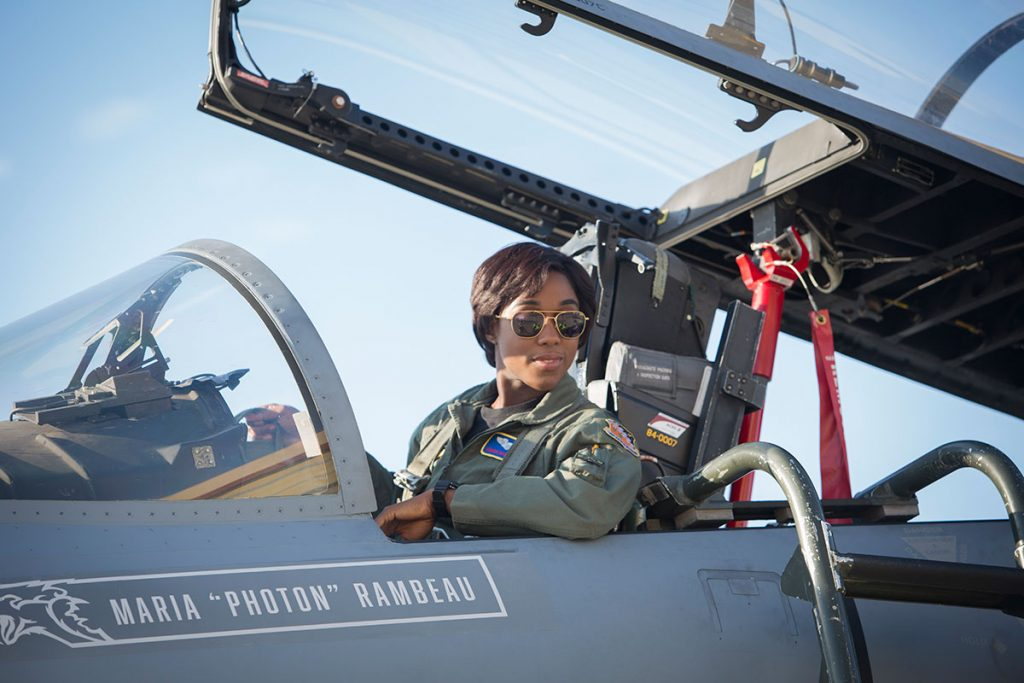 Lashana Lynch as Maria Rambeau.