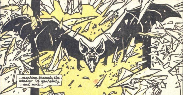 Batman Year One bat crash
