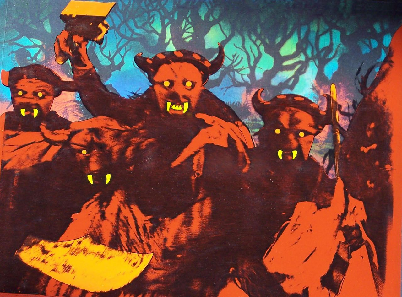 Orcs from Ralph Bakshi's 'Lord of the Rings.'
