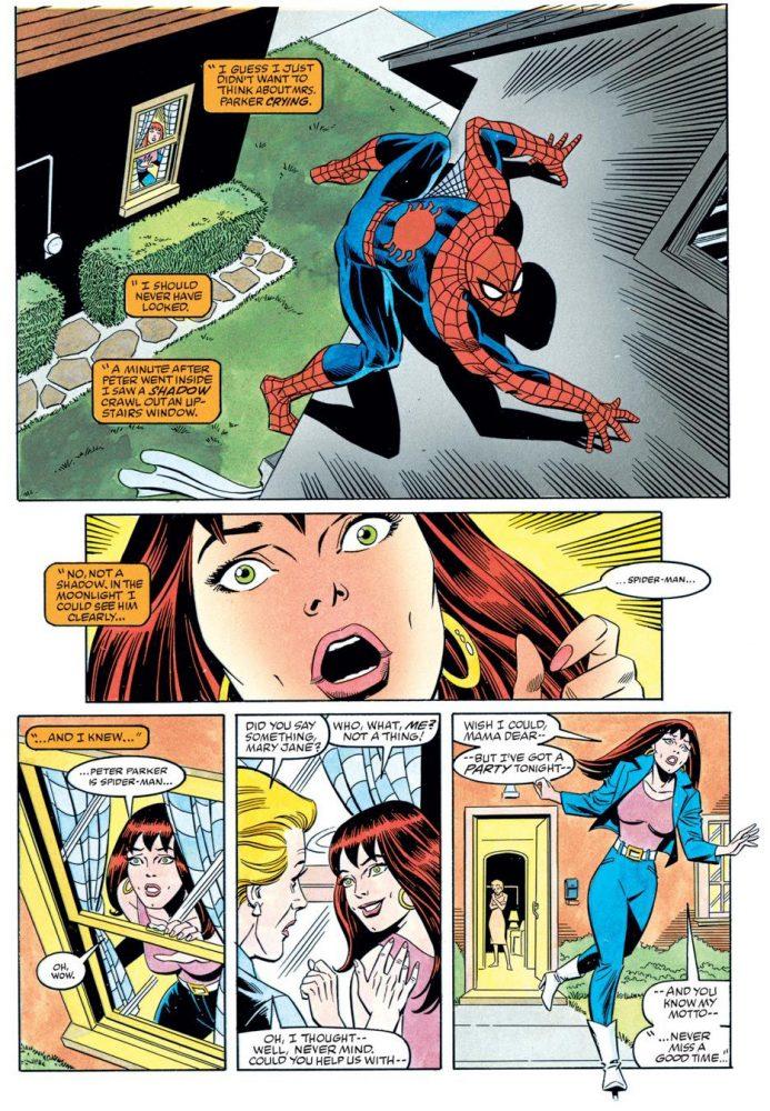 Spider-Man Parallel Lives MJ Finds Out