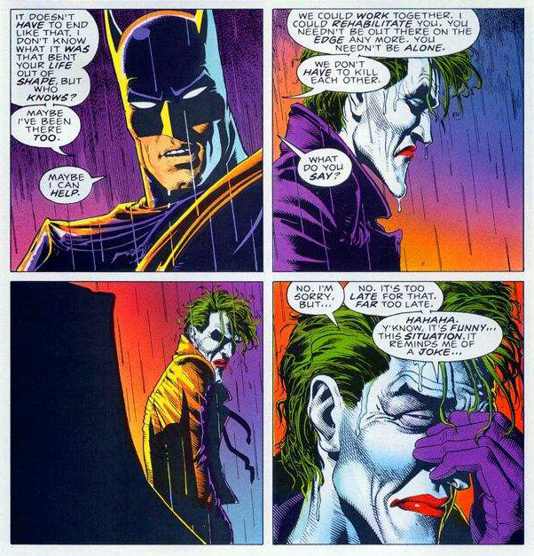 Batman Killing Joke Far Too Late