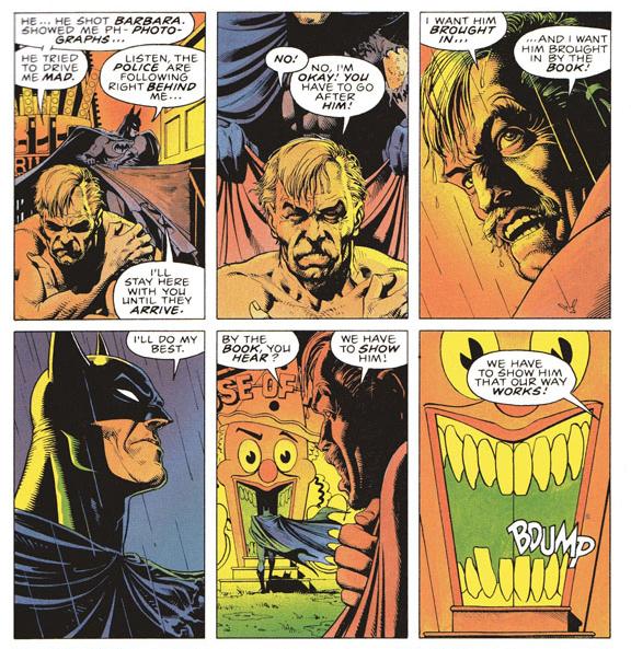 Batman Killing Joke By The Book