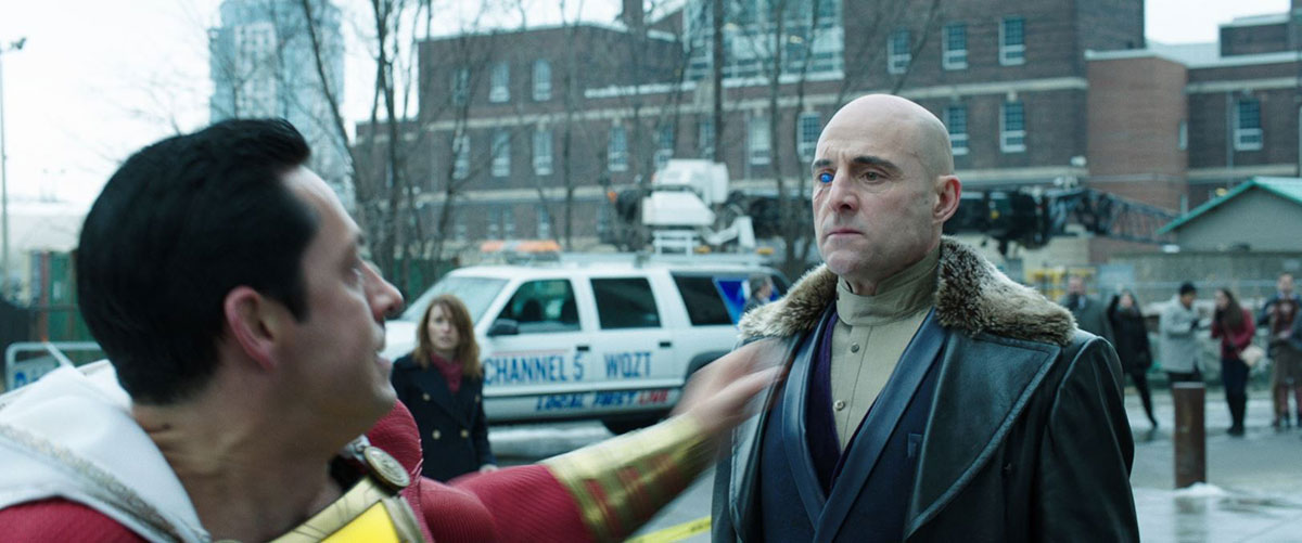 Shazam faces Sivana