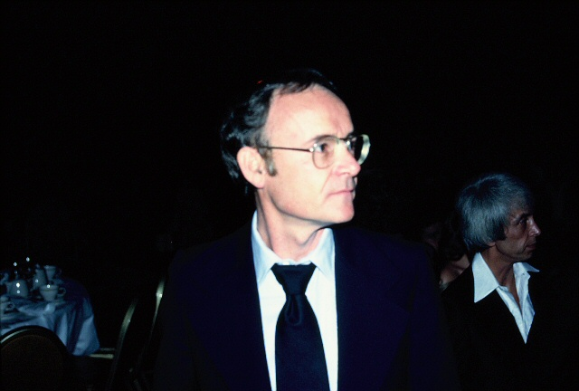 Buck Henry in 1978. Photo by Alan Light.