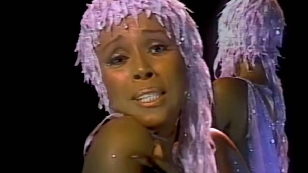 Diahann Carroll in the Star Wars Holiday Special