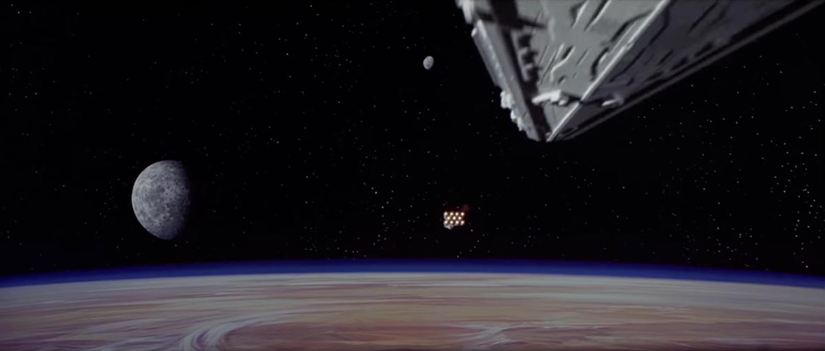 Star Wars Episode 4 opening