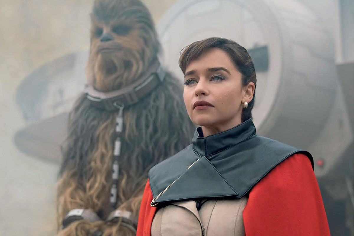 Qi'ra and Chewbacca
