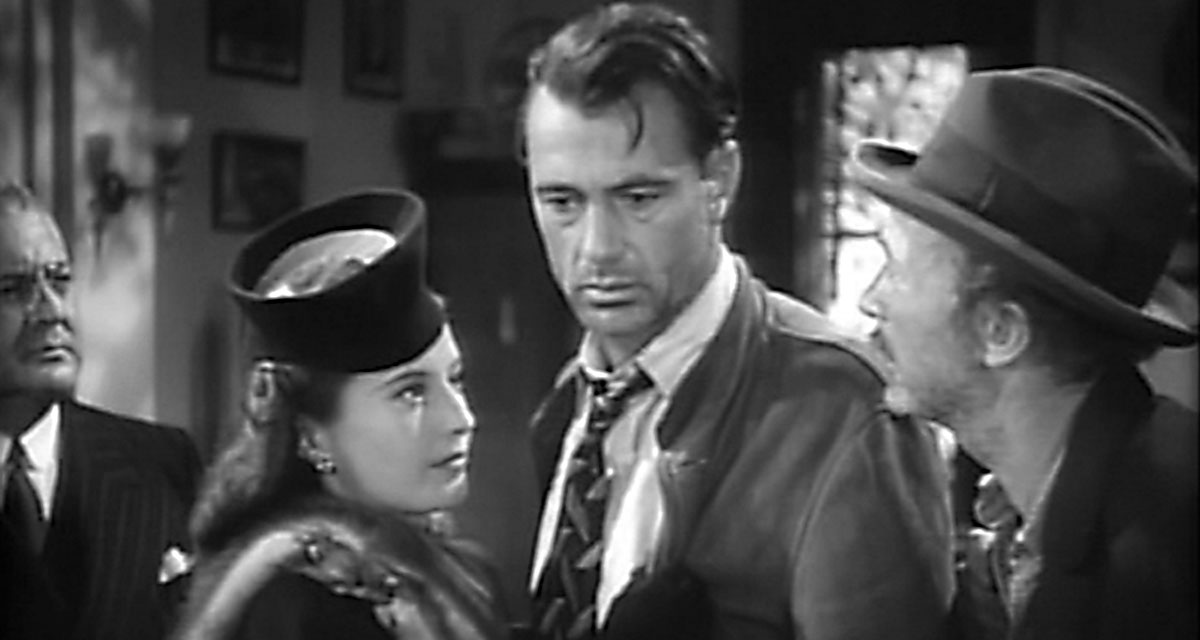 Barbara Stanwyck and Gary Cooper in 'Meet Jogn Doe'