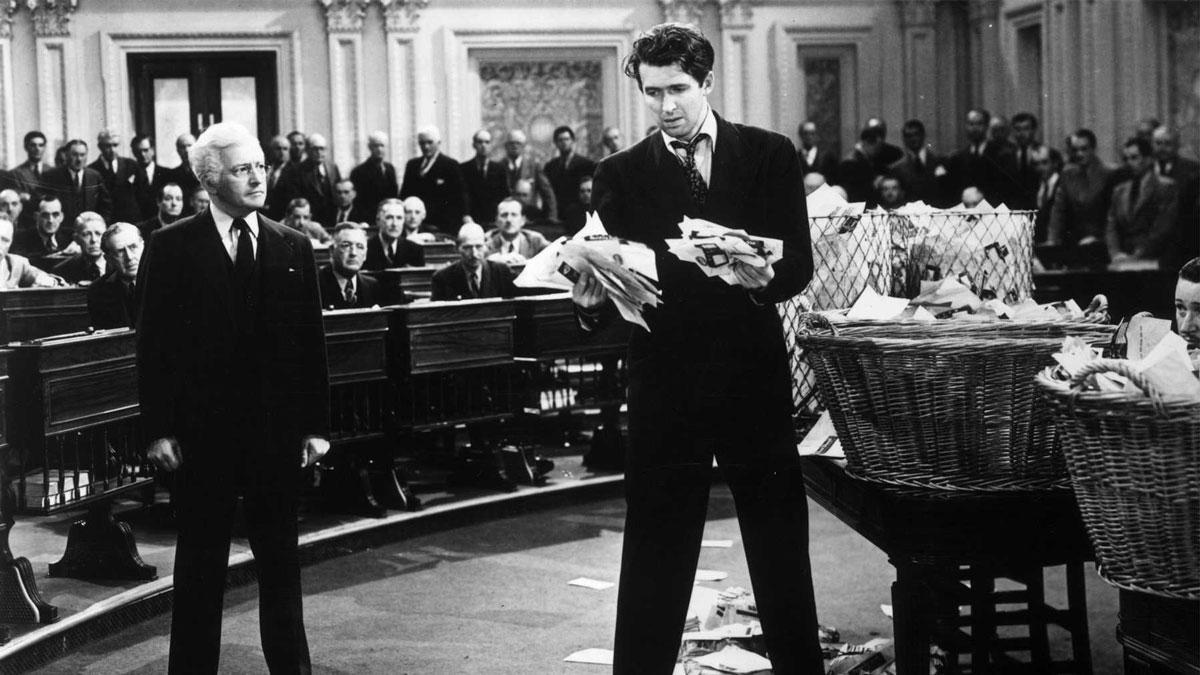 Jimmy Stewart in 'Mr. Smith Goes to Washington'