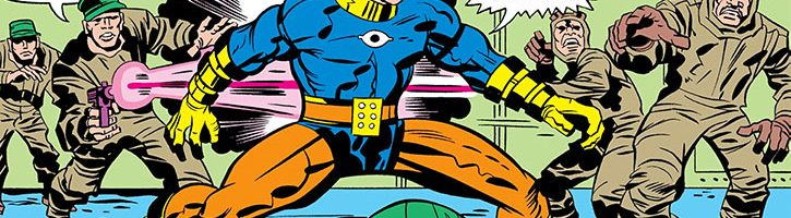 Deus Ex Brother Eye: Omac, the One Man Army