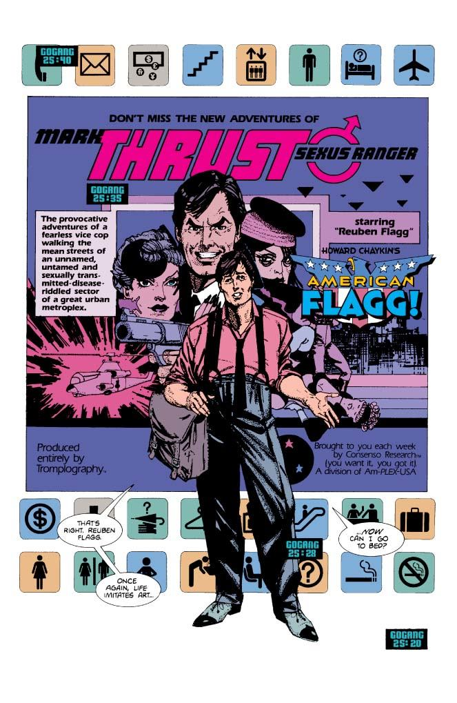 Mark Thrust, Sexus Ranger.