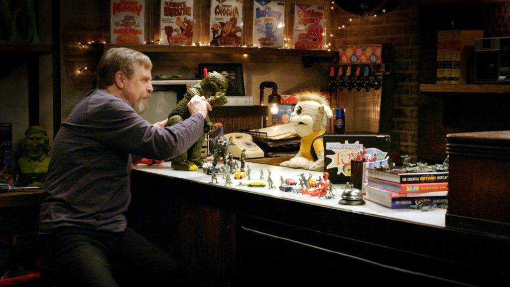 Mark Hamill and a puppet explore pop culture collections.