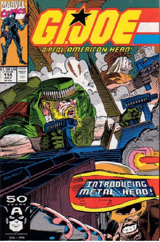 GI Joe 114 cover My First Time