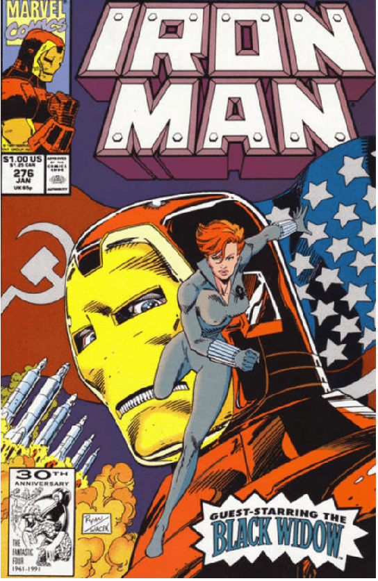 Iron Man 276 cover My First Time