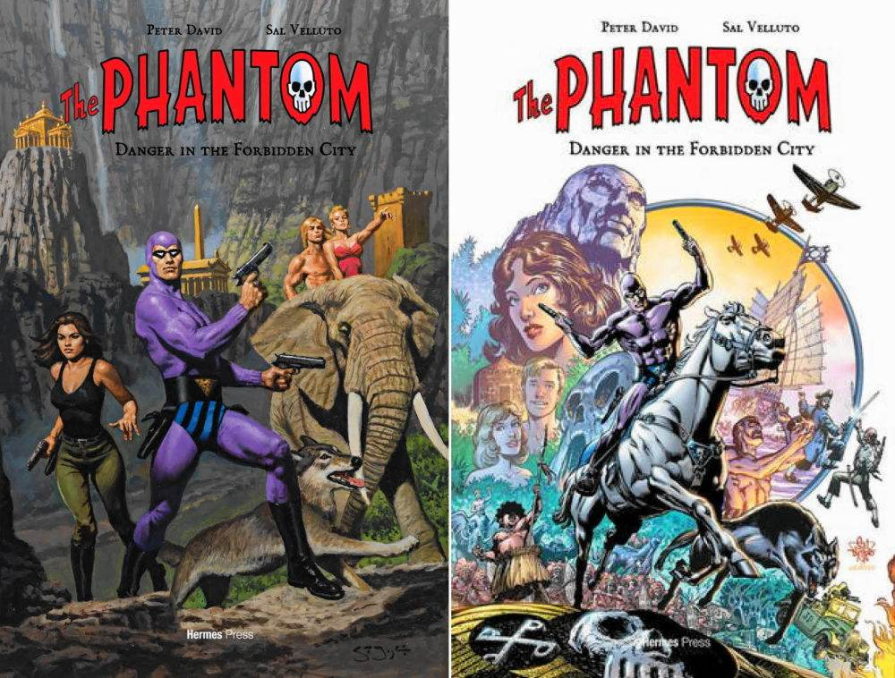 The Phantom meets Tarzan -- almost.