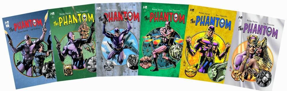 Peter David and Sal Velluto rock it on the Phantom