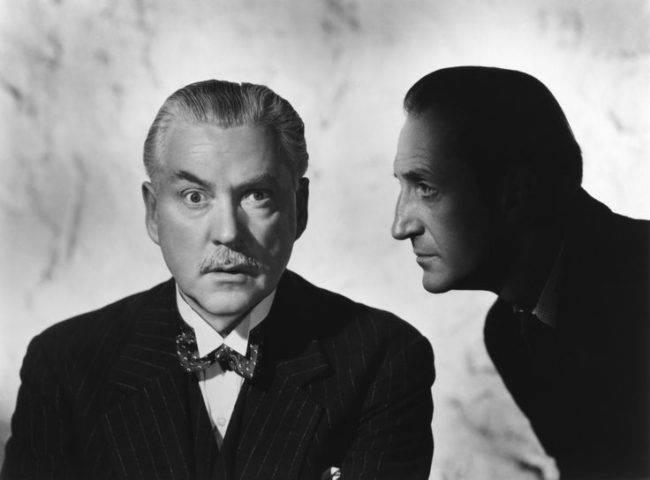 Basil Rathbone Nigel Bruce Holmes Watson