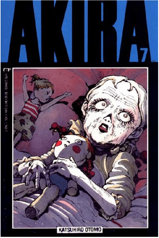 Akira 7 cover My First Time