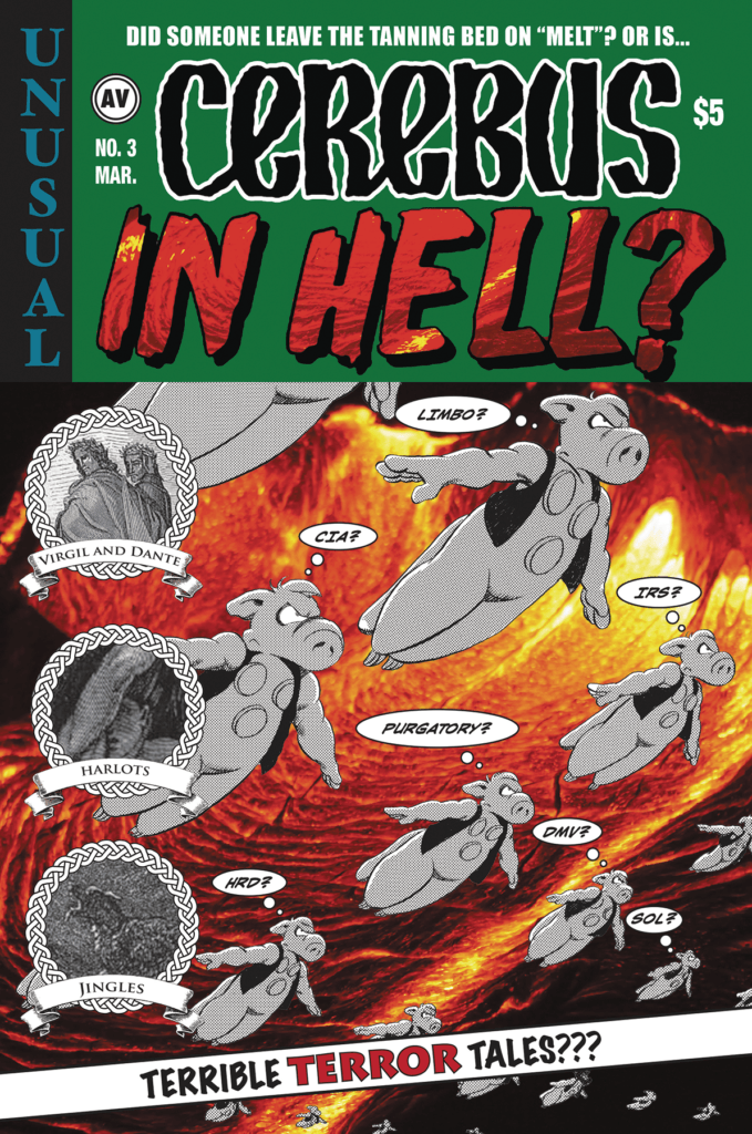 Cerebus in Hell 3 Flippin' Through Previews January 2017