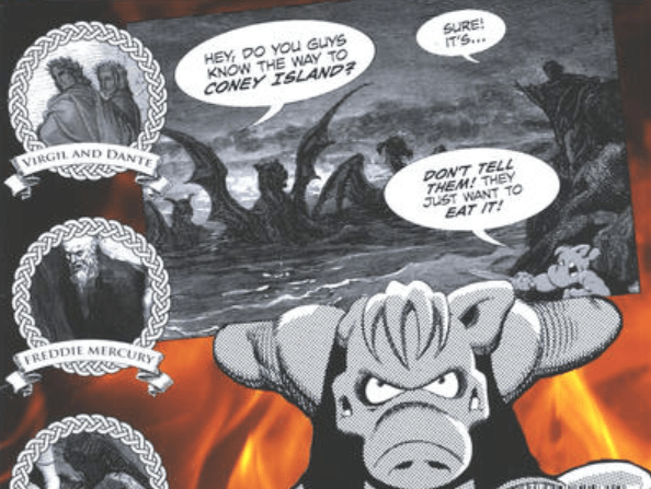 Aardvark Ratnik: 'Cerebus in Hell?' 1 and 2 Reviewed