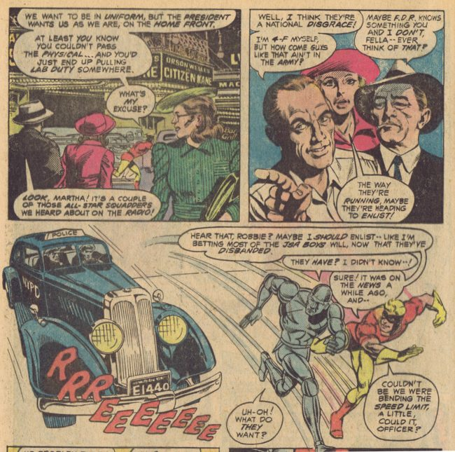 All-Star Squadron 5 page 9 Rich Buckler