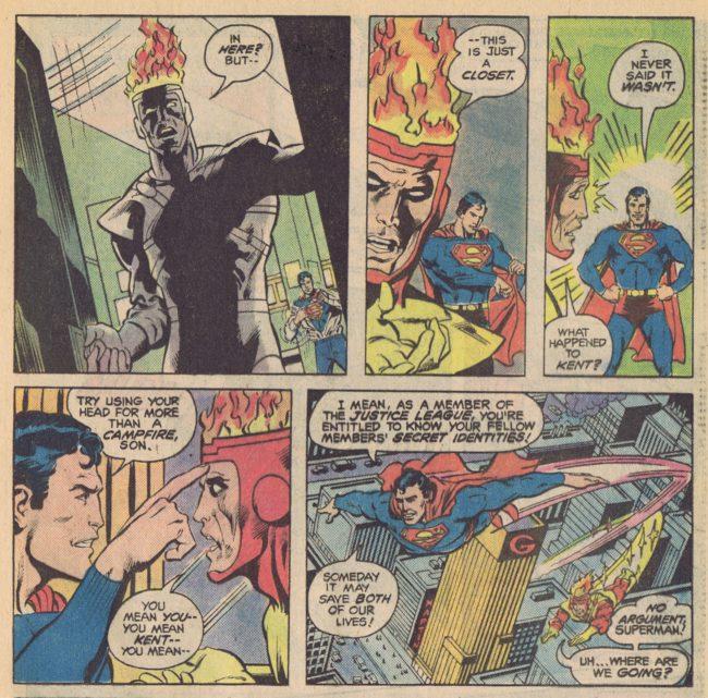 DC Comics Presents 45 page 16 Superman Firestorm Gerry Conway Rich Buckler
