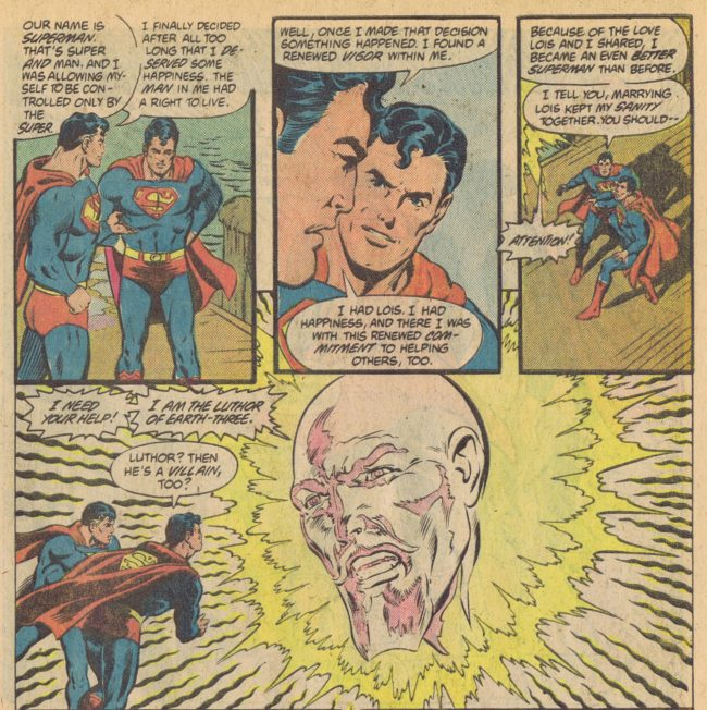 DC Comics Presents Annual 1 page 25 Superman Marv Wolfman Rich Buckler