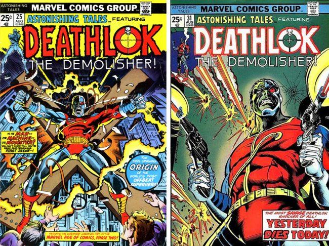 Deathlok covers Rich Buckler