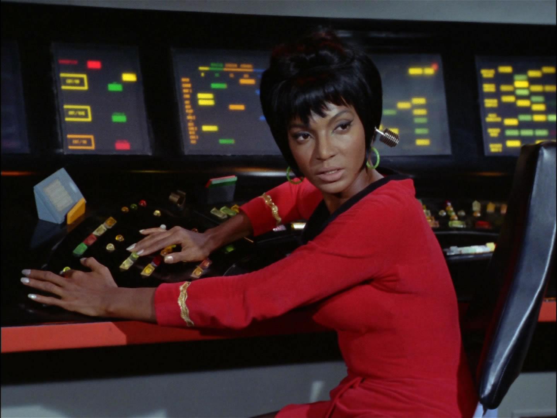 Nichelle Nichols as Lt. Uhura