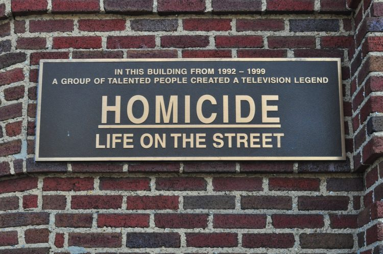 Homicide plaque Atomic Junk Shop