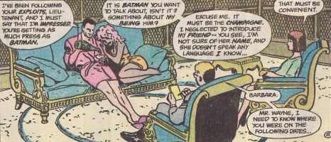 The Mystery Woman of BATMAN: YEAR ONE