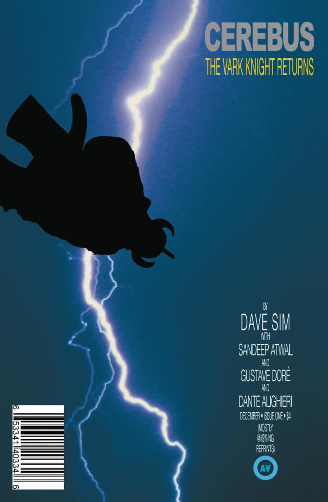 Cerebus Vark Knight Returns cover