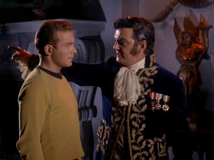 Star Trek TOS Kirk Trelane Atomic Junk Shop