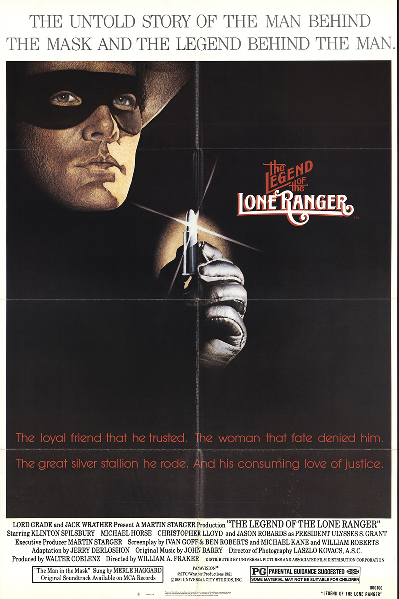 Legend of the Lone Ranger - poster - 1980