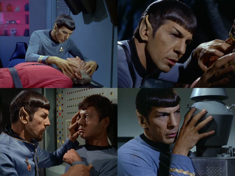 Star Trek TOS Mind Melds Spock Atomic Junk Shop