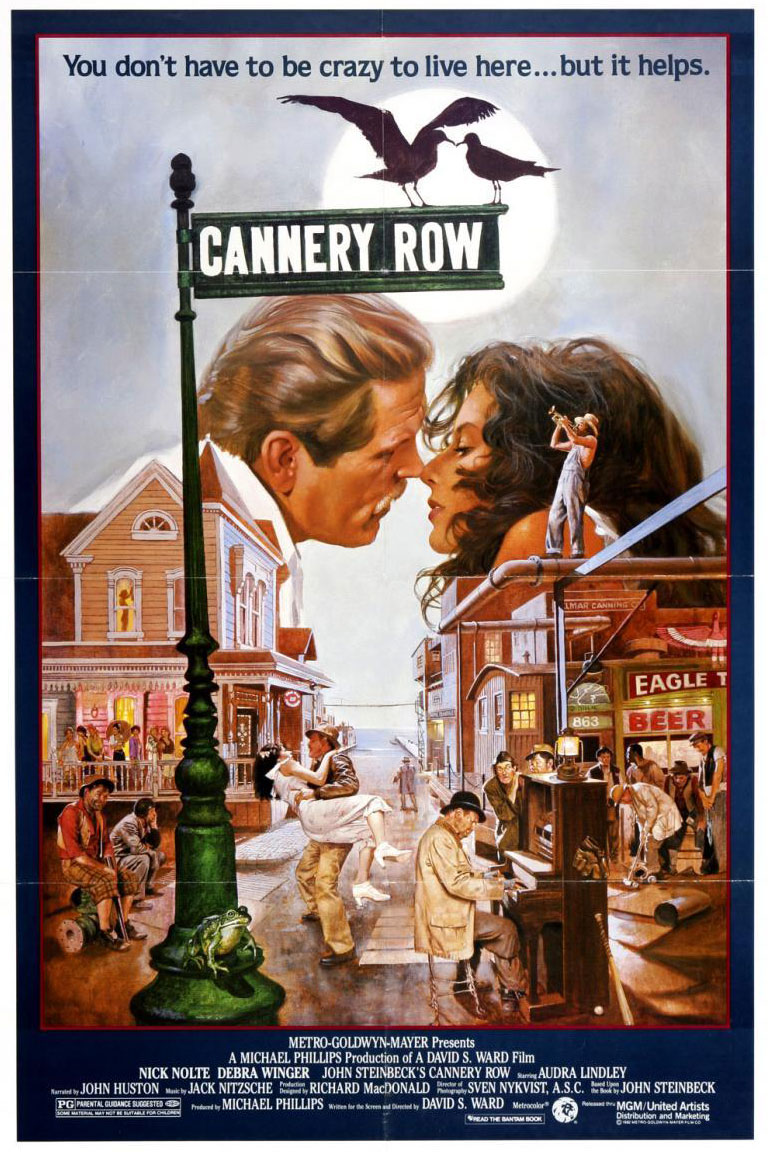 Cannery Row - poster
