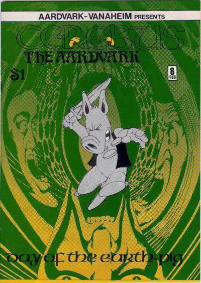 Cerebus 8 cover