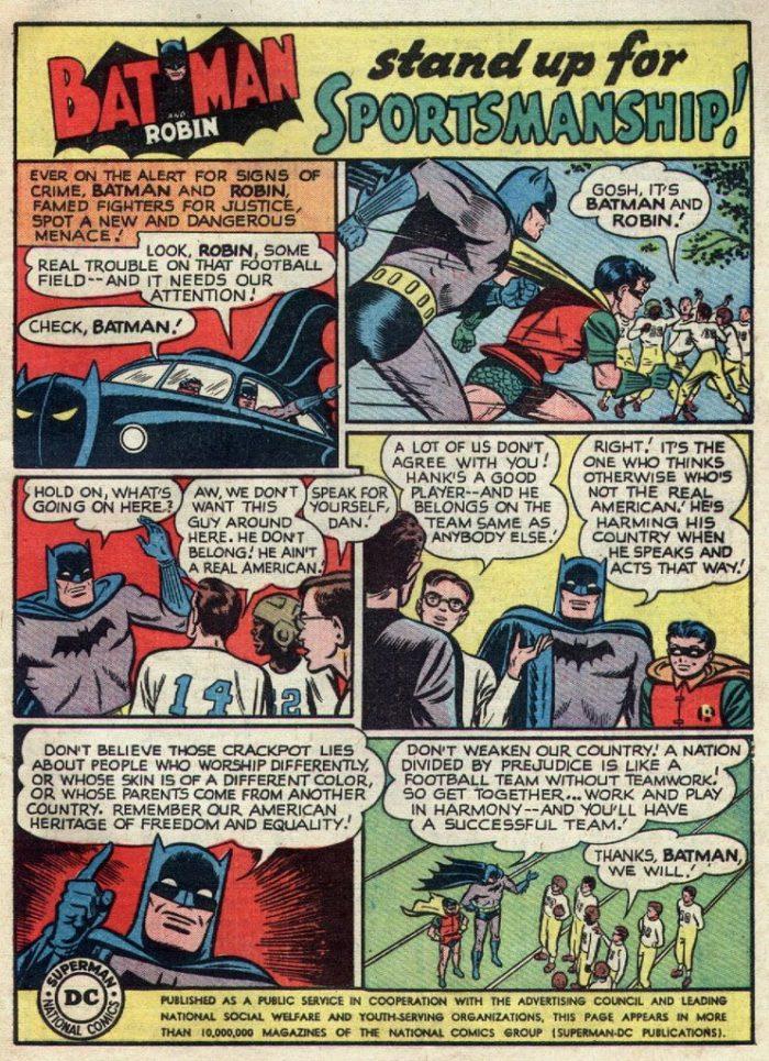 Batman Sportsmanship Atomic Junk Shop