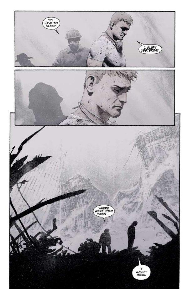 Captain America 9/11 Atomic Junk Shop