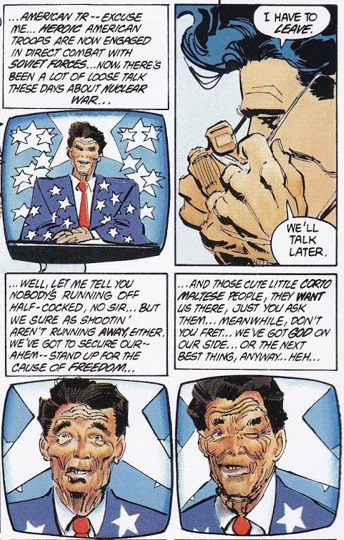 Batman Dark Knight Reagan Atomic Junk Shop