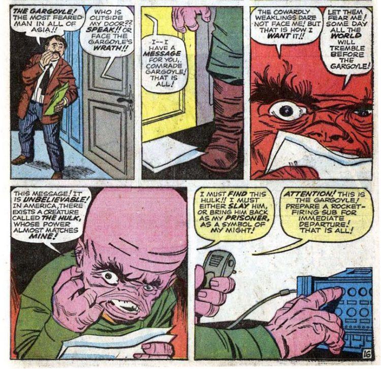 Gargoyle Hulk 1 Atomic Junk Shop