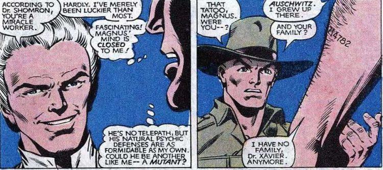 Magneto Auschwitz X-Men Atomic Junk Shop